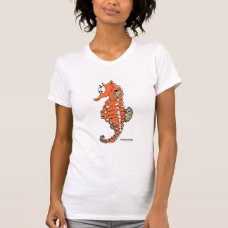 Fishfry projeta o Camisole do cavalo marinho Camisetas