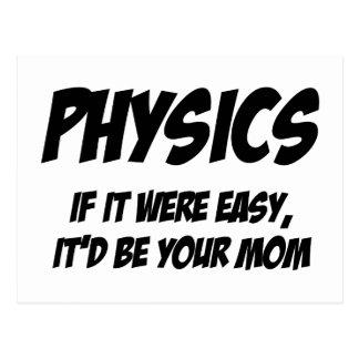 Física Cartão Postal