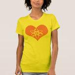 Física do amor t-shirts