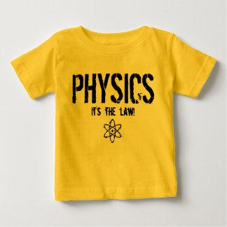 Física - é a lei! t-shirts