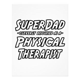 Fisioterapeuta de SuperDad… Modelos De Panfleto