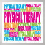 Fisioterapia colorida poster
