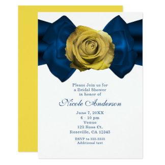Fita azul & rosa amarelo ALGUNS convites da COR
