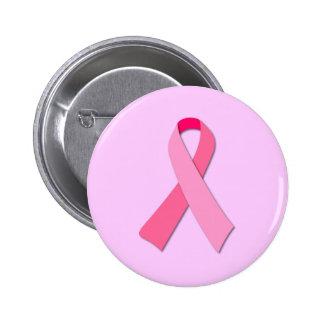 Fita cor-de-rosa bóton redondo 5.08cm