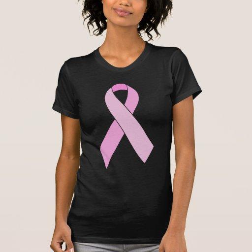 Fita cor-de-rosa customizável camisetas