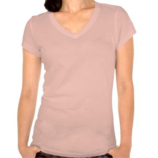 Fita cor-de-rosa t-shirts