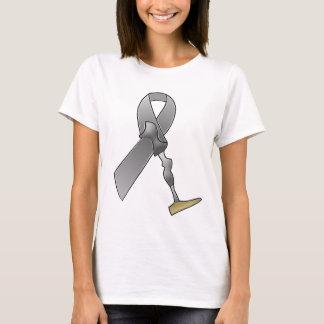 Fita da consciência do amputado camiseta