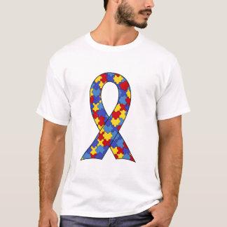 Fita da consciência do autismo camiseta