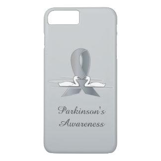 Fita da prata da doença de Parkinson com cisnes Capa iPhone 7 Plus