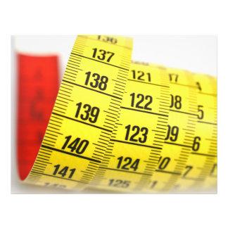 Fita de medição panfleto