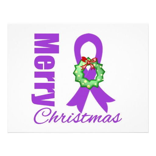 Fita do Feliz Natal da consciência do câncer de pâ Panfleto Coloridos