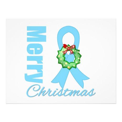 Fita do Feliz Natal do cancro da próstata Panfletos Coloridos