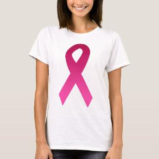 Fita do rosa da consciência do cancro da mama camiseta