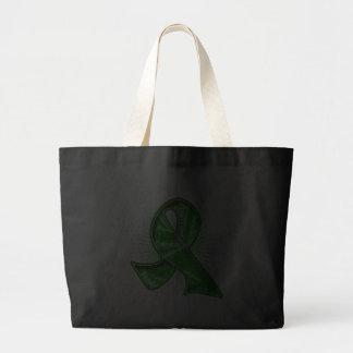 Fita do Watermark do slogan do câncer de rim Bolsa Para Compras