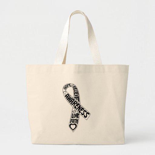 Fita dos slogan do mesotelioma bolsas de lona