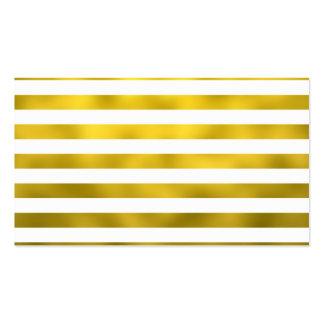 Fita listrada das listras horizontais brancas do cartão de visita