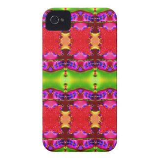 fitas coloridas verdes cor-de-rosa capinhas iPhone 4
