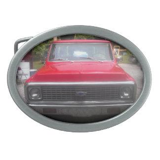 Fivela de cinto 1972 de Chevy C10