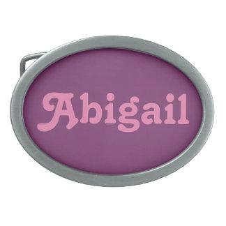 Fivela de cinto Abigail