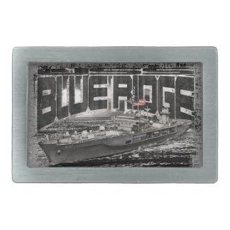 Fivela de cinto azul do peltre de Ridge do navio
