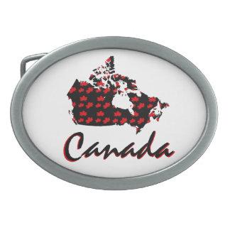 Fivela de cinto canadense de Canadá do bordo