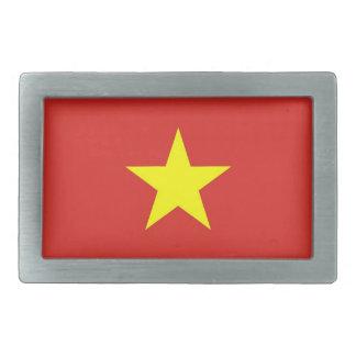 Fivela de cinto com a bandeira de Vietnam