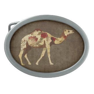 Fivela de cinto cor-de-rosa do camelo