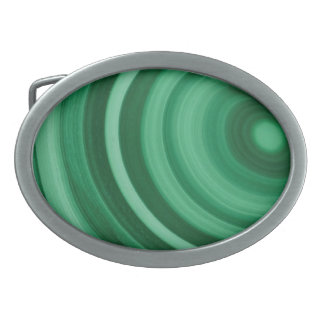 Fivela de cinto de pedra de mármore verde da