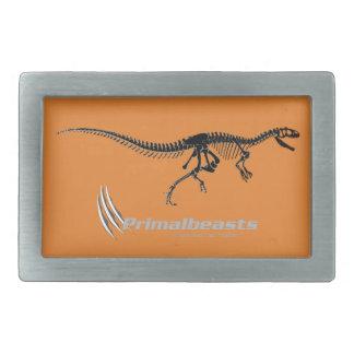 """Fivela de cinto do """"Allosaurus"""" de Primalbeasts"""