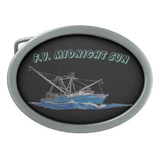 fivela de cinto do barco de pesca