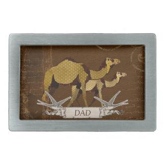 Fivela de cinto do pai dos camelos