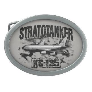 Fivela de cinto do peltre de KC-135 Stratotanker