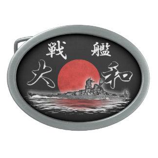 Fivela de cinto do peltre de Yamato da navio de