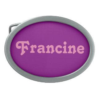 Fivela de cinto Francine