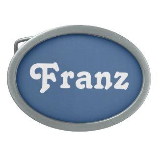 Fivela de cinto Franz