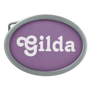 Fivela de cinto Gilda