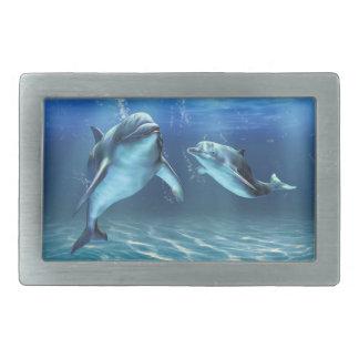 Fivela de cinto ideal de Rect do golfinho