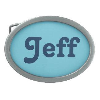 Fivela de cinto Jeff