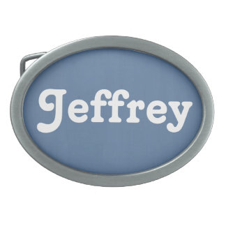 Fivela de cinto Jeffrey