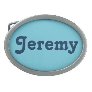 Fivela de cinto Jeremy