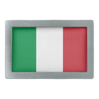 Fivelas de cinto italianas da bandeira