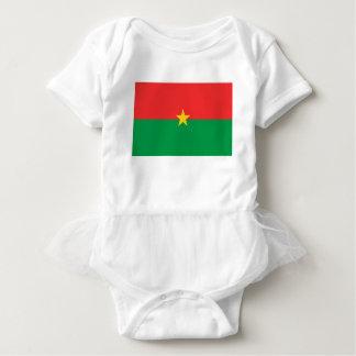 flag_burkina_farso body para bebê