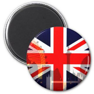 Flag_ Londres-Britânico Imã De Geladeira