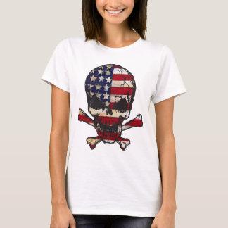 Flag-painted-Skull.png Camiseta