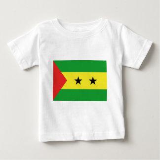 flag_saotomeeprincipe.ai camiseta para bebê