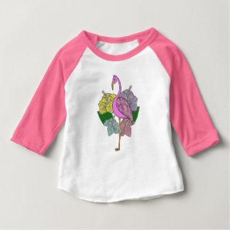 Flamigo Camiseta Para Bebê