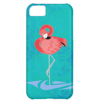 Flamingo cor-de-rosa capa para iPhone 5C