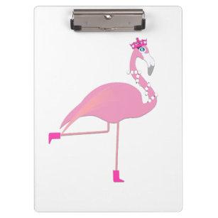 Flamingo cor-de-rosa - prancheta
