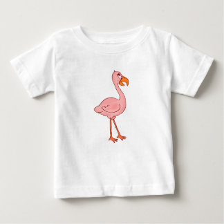 Flamingo de Faye Camiseta Para Bebê