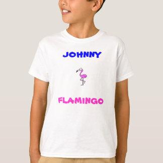 flamingo de johnny camiseta